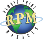 RPM Remote Print Manager is our print server software
