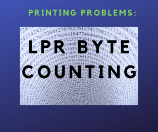 LPR byte counting