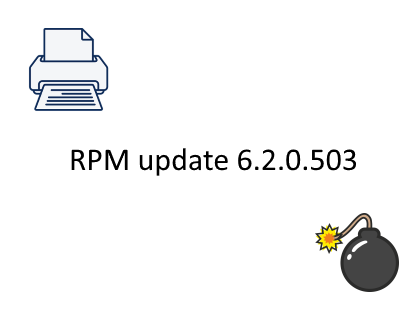 RPM Remote Print Manager update 6.2.0.503
